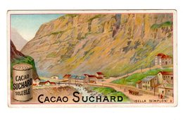 Chromo Chocolat Suchard, 126 / 5, Isella, Simplon, Suisse - Suchard