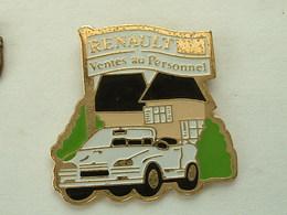 Pin's RENAULT VENTE AU PERSONNEL - Renault