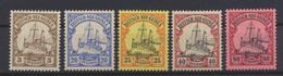 Kolonien Deutsch-Neuguinea 7 + 10-11 + 13 + 15 Luxus Postfrisch MNH Kat.W. 26,00 - Kolonie: Deutsch-Neuguinea
