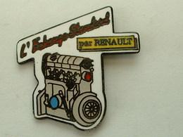Pin's L'ECHANGE STANDARD BY RENAULT - Renault