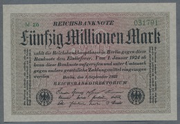 P109 Ro108b DEU-122b  50 Million Mark 1923 NEUF UNC - [ 3] 1918-1933 : Repubblica  Di Weimar