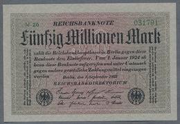 P109a Ro108b DEU-122b  50 Million Mark 1923 NEUF UNC - 50 Millionen Mark