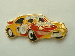 Pin's PORSCHE 911 - RALLYE CEDICO - BARBARA - Porsche