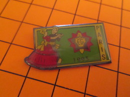 713K PIN'S PINS / Rare Et De Belle Qualité ! / Thème : POMPIERS / BAL DU 14 JUILLET 1993 SAPEURS POMPIERS DE PARIS - Brandweerman