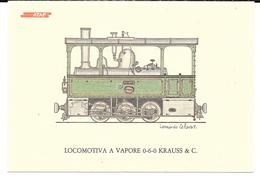 Cpsm Firenze / ATAF - Locomotiva In Servizio Sulla Linca Del Chianti Per Greve E S. Casciano . - Firenze (Florence)