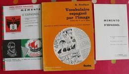 Lot De 3 Revues Livrets Memento Scolaires Ou Autres En Espagnol. Espana. Espagne. 1984 - Autres
