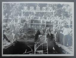 Trois Photographies En Noir Et Blanc - Clichés Ciné Photo US BHV - Corbeil - Compétiteurs De La Section Natation - Sport