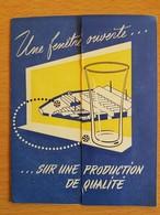 SOIGNIES Gobeleterie Inébrechable  S.A   ( Rare) - Culture