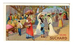 Chromo Chocolat Suchard, 188 / 3, Au Marché, Suisse - Suchard