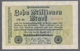 P106 Ro105a DEU-118g. 10 Million Mark 1923 NEUF - [ 3] 1918-1933: Weimarrepubliek