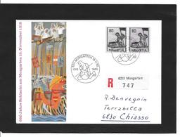 650 Ans MORGARTEN 15.11.1965 Z246+z339 Sur Carte. - Poststempel