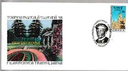 N 233) Rumänien 1998 SST Cluj-Napoca: D. Respighi - Musik
