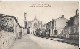 Carte Postale Ancienne De Les Gardes (49)la Grande Rue - France