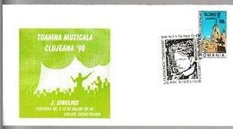 N 236) Rumänien 1998 SSt Cluj-Napoca: Jean Sibelius, 2. Sinfonie - Musik