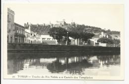 Tomar - Trecho Do Rio Nabão E O Castelo Dos Templários - Leiria