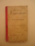 Tours A. Mame - Notions Elémentaires D'Agriculture Et D'Horticulture - 1898 - Garden