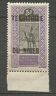 NIGER N° 17 NEUF**  SANS CHARNIERE / MNH - Niger (1921-1944)