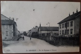 GRANGES Rue Du Poutreau Et L'hopital - Granges Sur Vologne