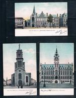 3 Kleur Postkaarten (periode Rond 1907) Voor 3 Euro - Sint-Niklaas
