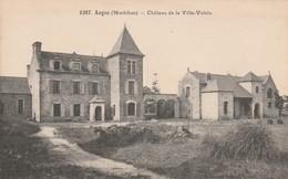 Rare Cpa Augan Le Château De La Ville-Voisin - Autres Communes