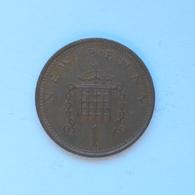 1 New Penny Münze Aus Großbritannien Von 1974 (schön) - 1971-…: Dezimalwährungen