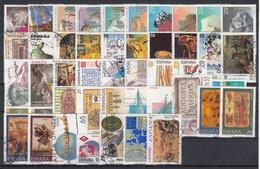 ESPAÑA 1994 Nº 3277/3335 USADO 61 SELLOS + 1 HB + 1MP + 1 BLOQUE - Espagne