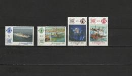 Zil Elwannyen Sesel 1988 Ships, Lloyd's List Set Of 4 MNH - Ships