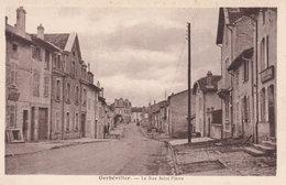 Gerbeviller La Rue Saint Pierre French Old Postcard - France