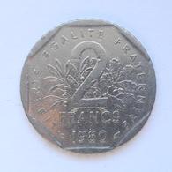 2 Francs Münze Aus Frankreich Von 1980 (schön) - I. 2 Francs