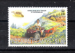 Pitcairn  -  2000. Coltivatore Con Trattore. Farmer With Tractor. MNH - Agricoltura