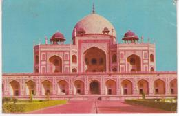 °°° 13411 - INDIA - NEW DEHLI - HUMAYUN TOMB - With Stamps °°° - India