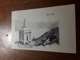Cartolina Postale Illustrata 1900, Lago D'Idro, Ossario Di Monte Suello - Brescia