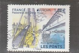 FRANCE 2018 EUROPA LES PONTS OBLITERE YT 5218 - France