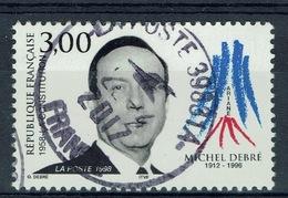 France, Michel Debré (1912-1996), French Politician, Prime Minister, 1998, VFU - France