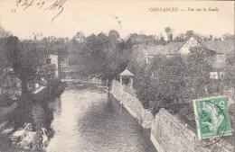 50.- COUTANCES .- Vue Sur La Soulle. 1909 - Coutances