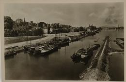 Nijmegen // Gezicht Va Verkeersbrug (schip - Binnenvaart) 1950 - Nijmegen