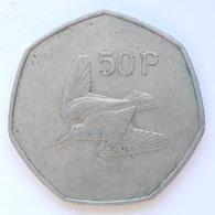 50 Pence Münze Aus Irland Von 1981 (sehr Schön) - Irlanda