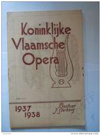 Antwerpen 1938 Koninklijke Vlaamse Opera Programma Cosi Fan Tutte 36 Pagina's 13,8 X 21 Cm - Programmes