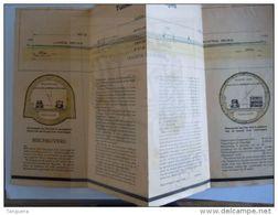 1933 Folders De Tunnels Onder De Schelde Te Antwerpen Door Pieux Franki Form  10 X 23,2 Cm Open 40 X 46,4 Cm - Travaux Publics