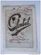 Vloeipapier Buvard Chabel Chapeau Parfait Dans Toutes Les Bonnes Chapelleries Form 10,5 X 14,5 Cm Utilisé Voire Photo - Carte Assorbenti