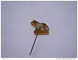 Speldje Eplinglette Leeuw Lion  2 X 1,5 Cm - Animaux