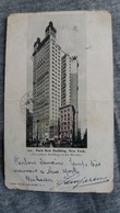 CARTE POSTALE NEW YORK PARK ROW BUILDING ED FRANZ HULD 1902  FORMAT 8 PAR 14 CM  2 EME CHOIX - Autres Monuments, édifices