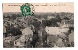 (14) 124, Caen, ELD 895, Panorama, Vue Sur La Place Saint Martin - Caen