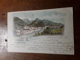 Cartolina Postale 1899, S. Pellegrino Stazione Idrominerale Di Primo Ordine - Bergamo