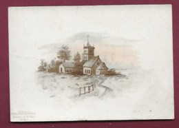 250619B - CHROMO CHOCOLAT AIGUEBELLE -  Paysage église Village - Aiguebelle