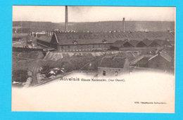 CPA AUVELAIS : Glaces Nationales ( Vue Ouest ) RARE - Imp. Industrielle Auvelais - TTBE - Sambreville