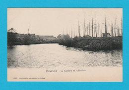 CPA AUVELAIS : La Sambre Et L'Abattoir - Imp. Industrielle Auvelais (n° 4363) - TTBE - Sambreville