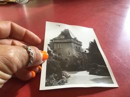 Photo Noir Et Blanc à Bord Blanc Lyon 1966 Château - Lieux