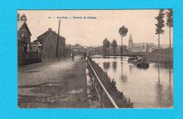 CPA AUVELAIS : Chemin De Halage - Circulée En 1910 - TBE - Sambreville