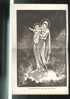 Affichette Notre Dame De Mai , Priez Pour Nous - Ayons Le Sourire - Pensionnat Saint Gilles - Moulin - 1945 - Afiches